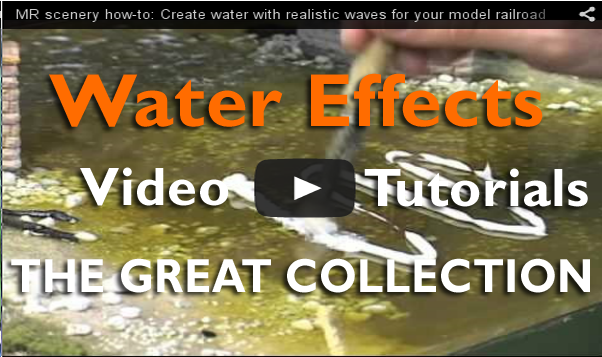 diorama and water effetcs the great collection plastic models world