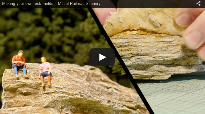 Make Your Own Diorama: Diorama World - Making Your Own Rock Molds