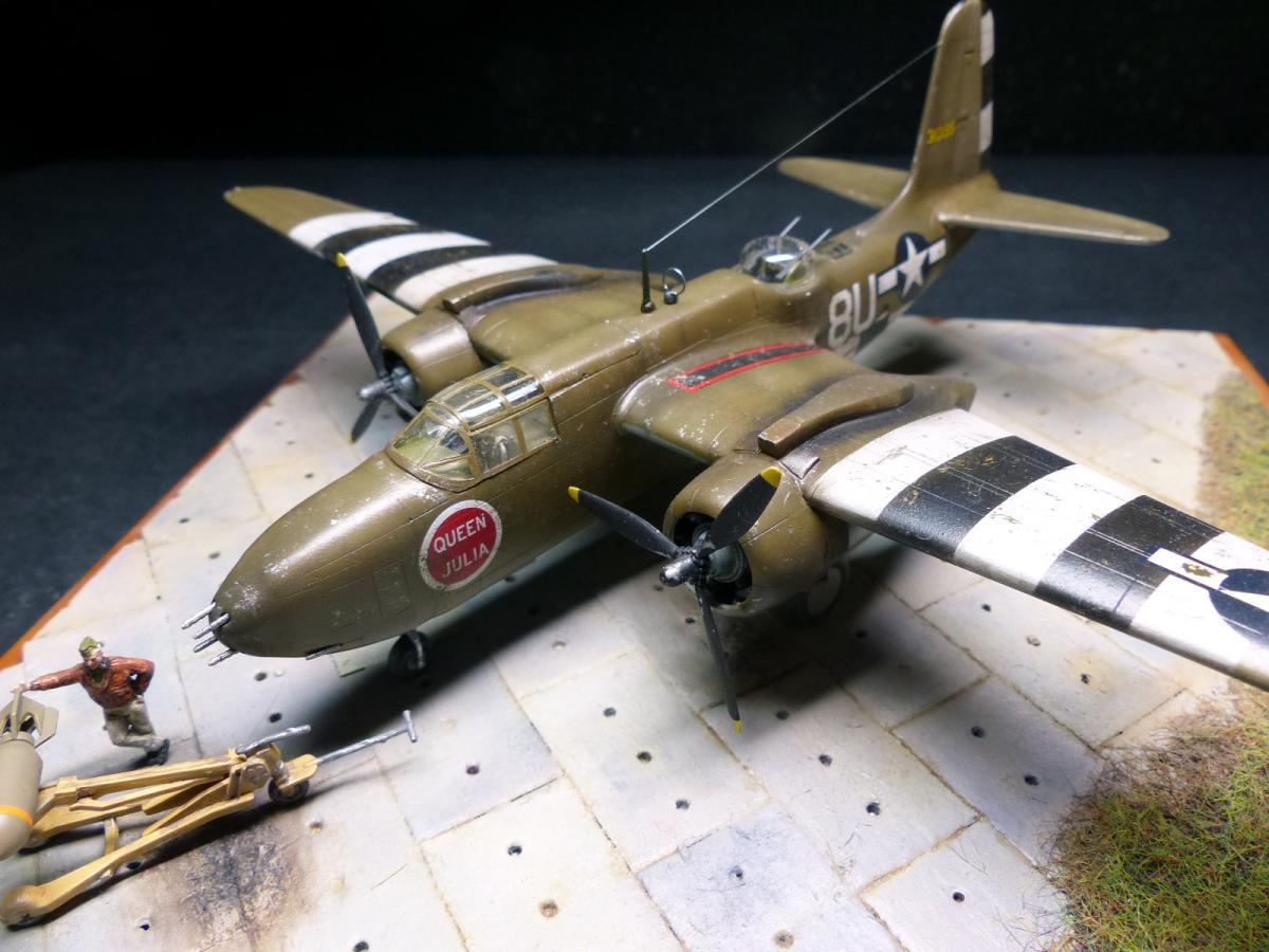 A-20G Havoc in D-Day camo, MPM 1/72 | Plastic Models World