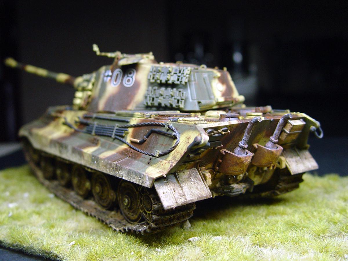King Tiger Battle of Builge, Dragon 1/35 | Plastic Models World