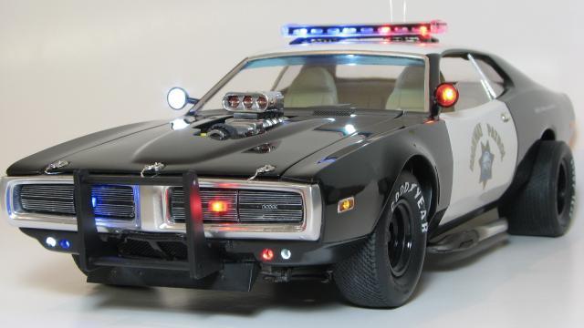 Dodge Charger Interceptor Mpc 1 16 Plastic Models World