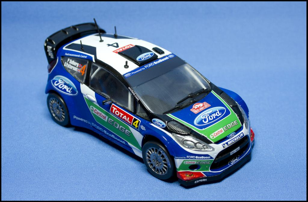 Ford Fiesta Rs Wrc 2011 Airfix 1 32 Plastic Models World