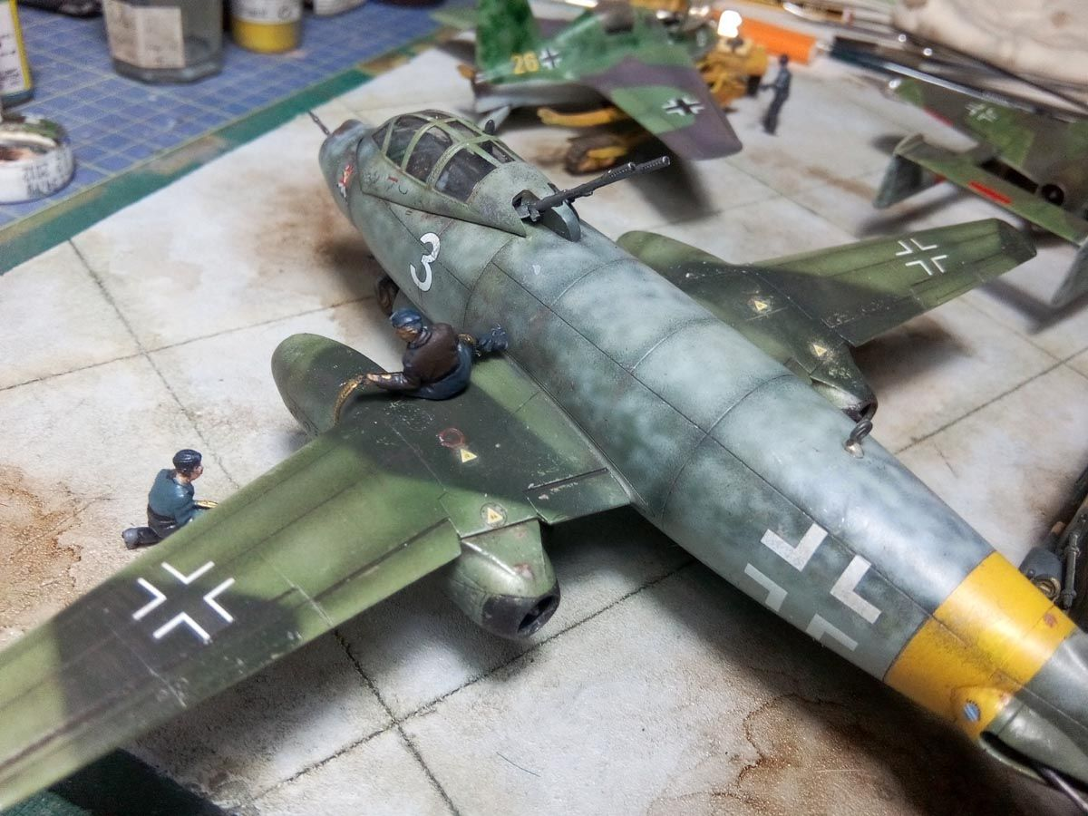 Luftwaffe 1946 Diorama - 1-72scale | Plastic Models World