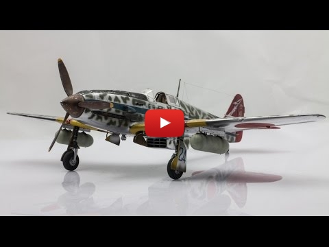 Embedded thumbnail for Full Build - Tamiya Ki-61-Id HIEN TONY 1-48