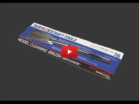 Embedded thumbnail for Review - Tamiya Model Cleaning Brush