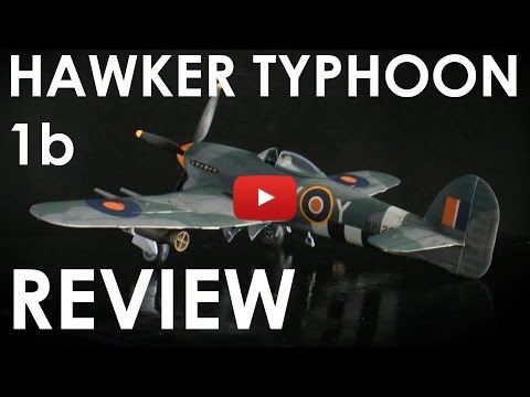 Embedded thumbnail for Review - Airfix Typhoon 1b  1-72 scale