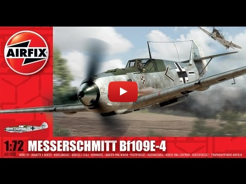 Embedded thumbnail for Review - Airfix Messerschmitt Bf 109 E-4 1-72 scale