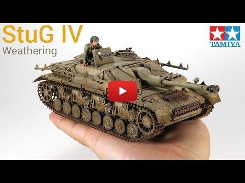 Embedded thumbnail for Weathering a Sturmgeschütz IV - StuG IV