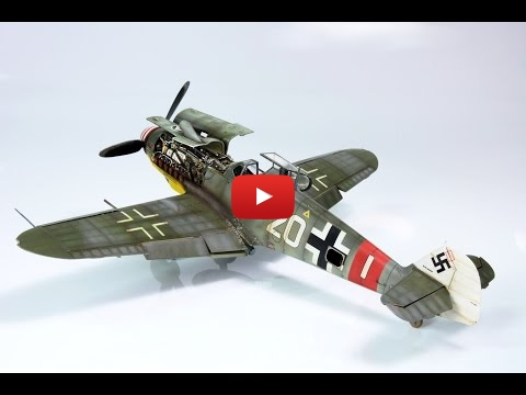 Embedded thumbnail for Painting a Bf-109G-6