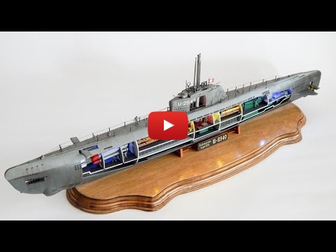 Embedded thumbnail for Full Build - Revell 1-144 Uboat with Interior& lights