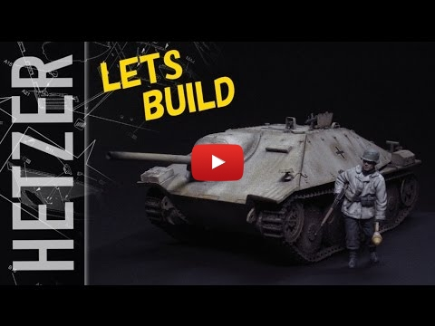 Embedded thumbnail for Full Build - Jagdpanzer38(t) Hetzer in Winter Camo