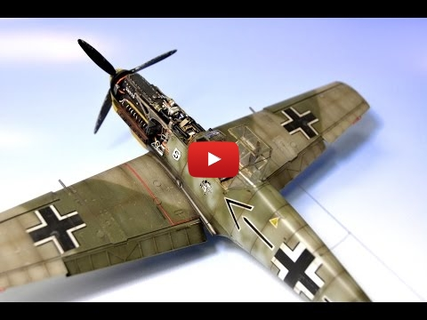 Embedded thumbnail for Full Build - BF 109E-4 Eduard 1:48 Adolf Galland
