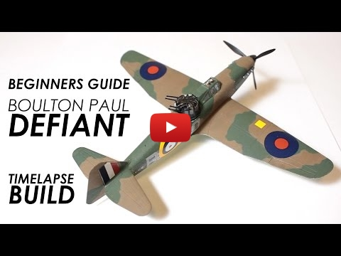 Embedded thumbnail for Scale Modelling for Beginners - Airfix Defiant 1:72