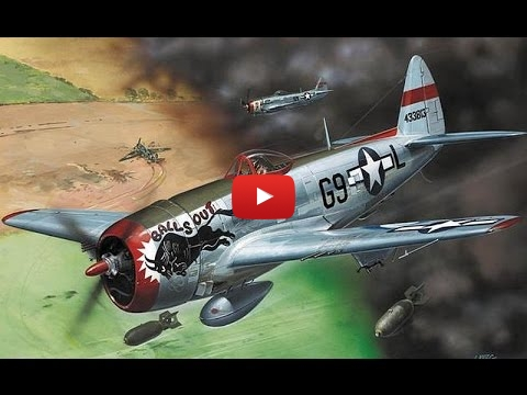 Embedded thumbnail for Full Build - Revell P-47 Thunderbolt 1-72 scale