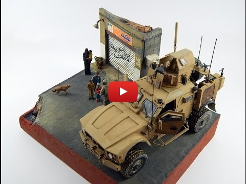 Embedded thumbnail for Diorama World - M-ATV Have a Break... - Kinetic Kit