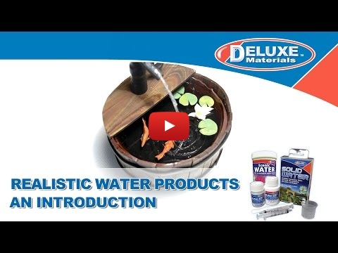 Embedded thumbnail for Presentation of Deluxe Material Water Effects full range of products