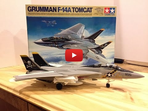 Embedded thumbnail for Quick Builds - New Tamiya 1/48 F14A Tomcat