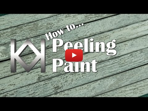 Embedded thumbnail for Advanced Tip - How to Model Peeling Paint on Wood