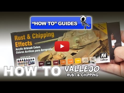 Embedded thumbnail for Review - Vallejo Rust and Chipping Effects