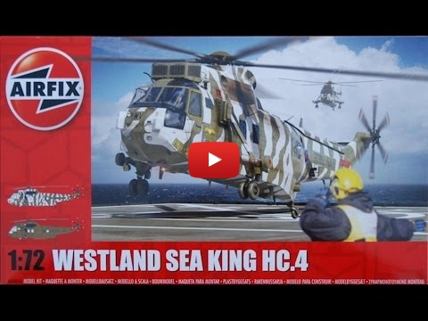 Embedded thumbnail for Review - Westland Sea King HC.4, Airfix 1-72