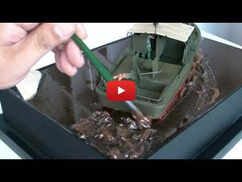 Embedded thumbnail for Diorama World - PBR31 Boat Splashing Water