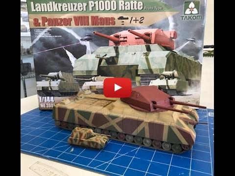 Embedded thumbnail for P1000 RAT 1000 - wunderweapon tank - Full Build