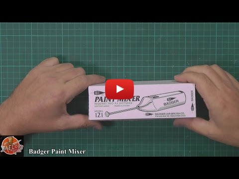 Embedded thumbnail for Badger - Paint Mixer Review by P. Flory
