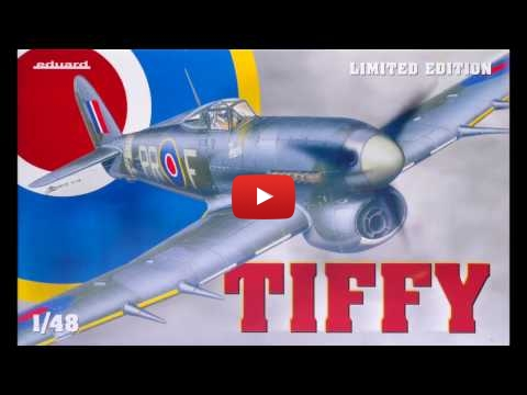 Embedded thumbnail for Eduard's 1/48 Tiffie Limited Edition Preview