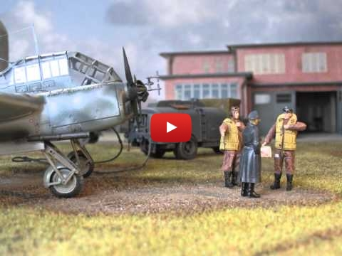 Embedded thumbnail for Diorama World - Focke Wulf 189 A-1 in Lübeck Blankensee