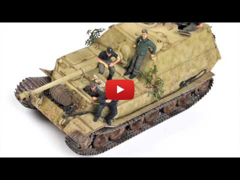 Embedded thumbnail for Forthcoming new Tamiya Elefant Tank Destroyer 1-48