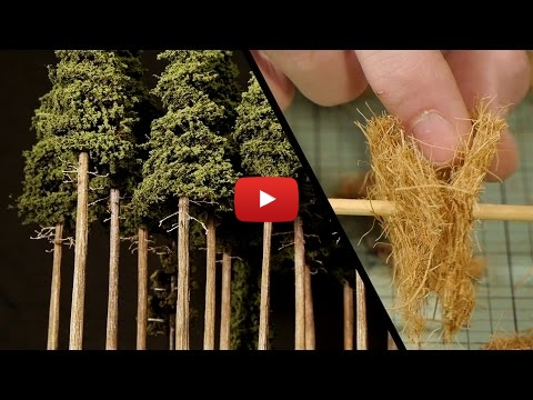 Embedded thumbnail for Diorama World - Tall Forest Pine Trees How To