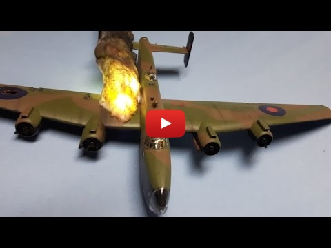 Embedded thumbnail for Diorama World - Night fighter explosion and fire Final Reveal