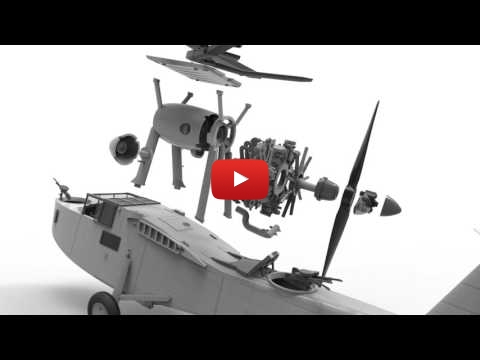 Embedded thumbnail for Airfix 1:48 Supermarine Walrus Mk.I coming to life