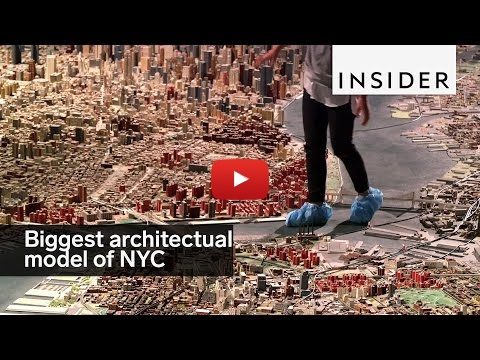 Embedded thumbnail for Diorama World - New York has you have never seen