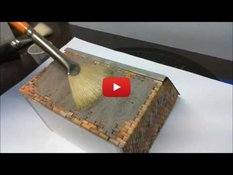 Embedded thumbnail for Diorama World - HowTo grout up brickworks