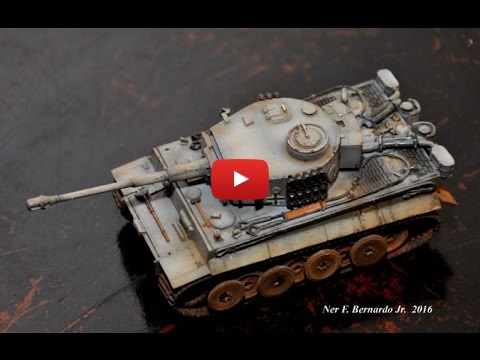 Embedded thumbnail for Build Review Trumpeter Tiger 1 Early 1-72 scale