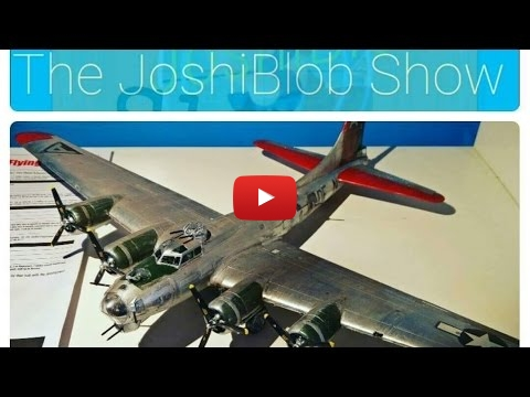 Embedded thumbnail for Airfix B17 Flying Fortress 1-72 Full Build