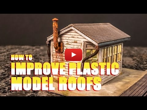 Embedded thumbnail for Diorama World - How to Improve Plastic Model Roofs