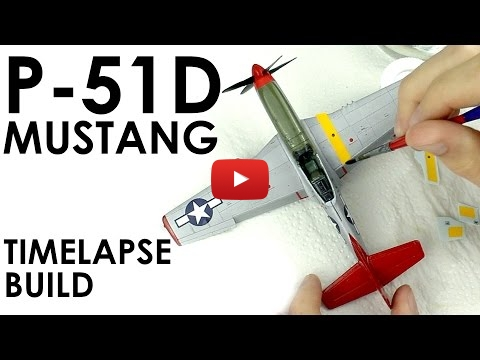 Embedded thumbnail for Quick Builds - Airfix P51D Mustang  1/72