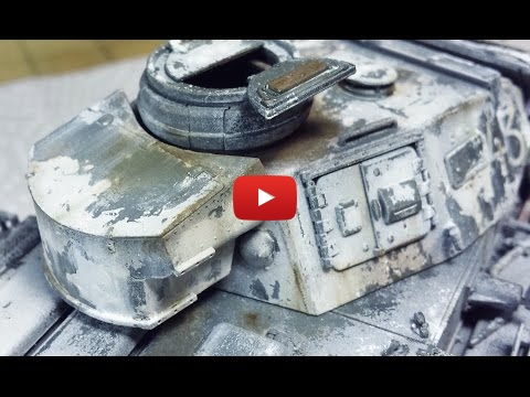 Embedded thumbnail for Advanced Tips - Painting and Weathering a Winter Whitewash