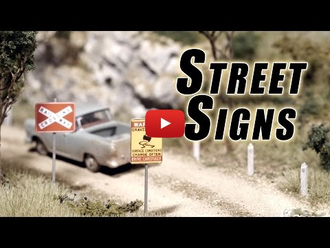 Embedded thumbnail for Diorama World - Make your own Street Signs