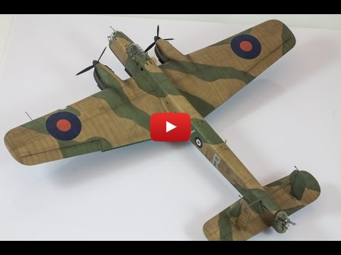 Embedded thumbnail for Painting 1:72 Armstrong Whitworth Whitley MkV by Airfix