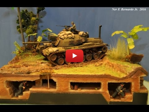 "Embedded thumbnail for Diorama World - M48A3 ""Victor Charlie"" Diorama"