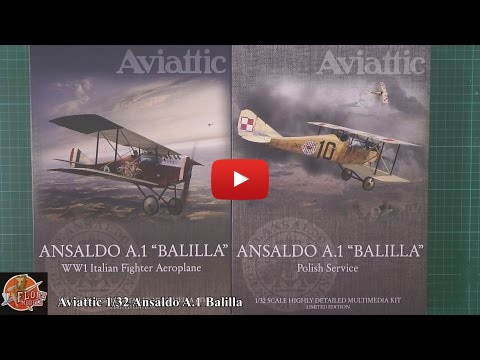 Embedded thumbnail for Aviattic 1/32nd Balilla review