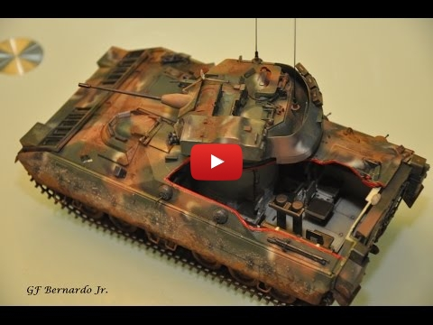 Embedded thumbnail for Full Build - M2 Bradley 1985 Tamiya Kit
