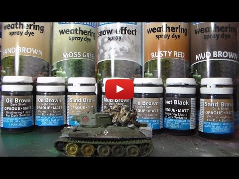 Embedded thumbnail for Review - Model Mates weathering products