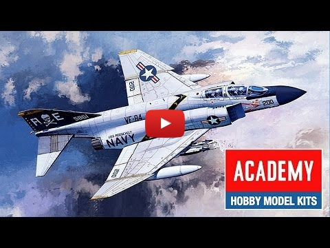 Embedded thumbnail for Full Build - Academy F-4J PHANTOM II