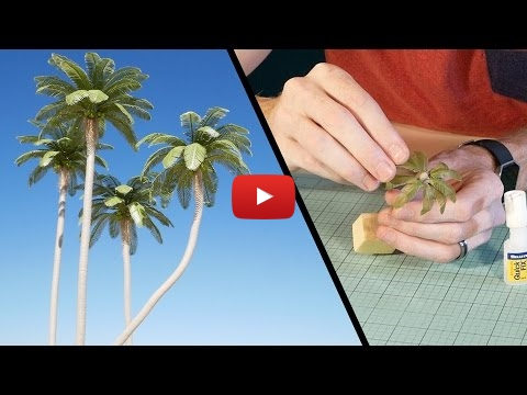 Embedded thumbnail for Diorama World - Coconut Palm Tree Tutorial