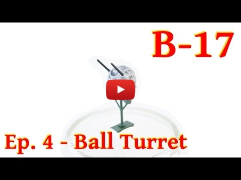 Embedded thumbnail for Building and painting a B-17 ball turrets step by step