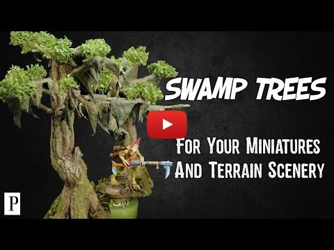 Embedded thumbnail for Diorama World - How To Make Swamp Trees